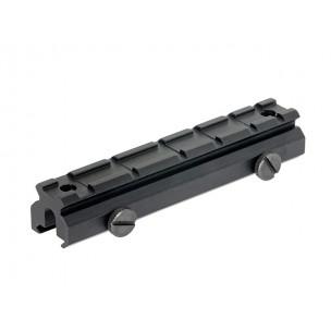 FLAT TOP type rail mount - low