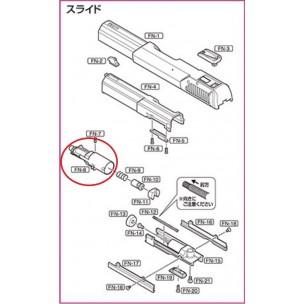 Marui Original Parts - Parts for FN 5-7 Gas Blowback Pistol ( FN-08 )