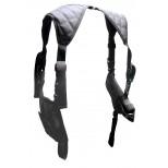 Deluxe Universal Horizontal Shoulder Holster - Black