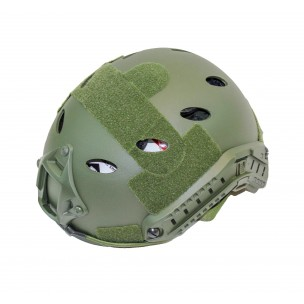 CASQUE FAST RAILED CAMO OD