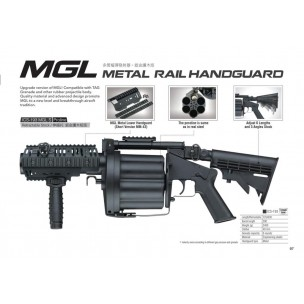 MGL Multiple Grenade Launcher