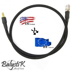 Balystik Ligne adaptateur US - EU HPA 8 mm tressée nylon