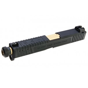 EMG SAI Tier One Slide Kit - Gold Barrel pour Umarex Glock 17 GBB