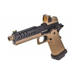 GBB GAZ HI-CAPA 5.1 TAN / NOIR 1,0J + POINT ROUGE BDS