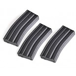120 Rds AEG Magazine for M4 / M16 Series ( Gray / 3pcs Set )