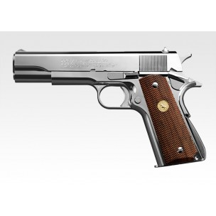 Colt Government Series 70 Nickel Finish