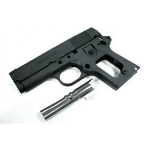 Slide & Frame for MARUI DETONICS.45 (Black/Early Ver.)