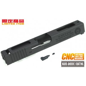 7075 CNC Slide for TM GLOCK-18C CIA 60th (Black)