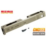 7075 CNC Slide for TM GLOCK-18C (TAN)